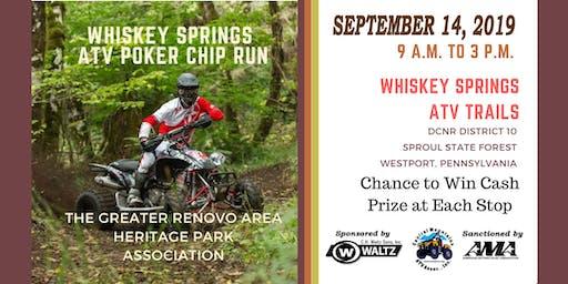 2019 Whiskey Springs ATV Poker Chip Run