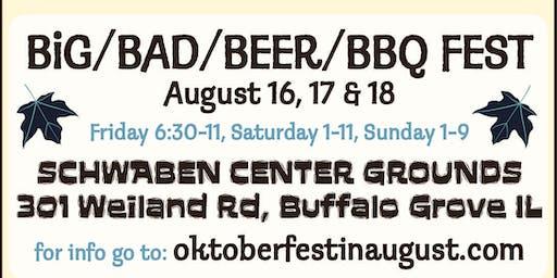 Oktoberfest In August