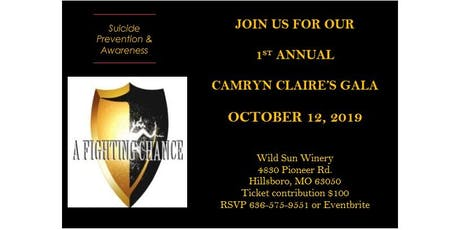 A Fighting Chance Foundation Suicide Prevention and Awareness Gala tickets