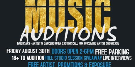 A3C MUSIC ARTIST AUDITIONS tickets