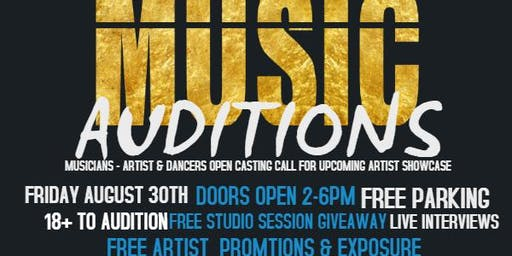 A3C MUSIC ARTIST AUDITIONS