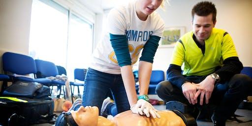 MTA Kaimai: Save a Life First Aid, Hamilton