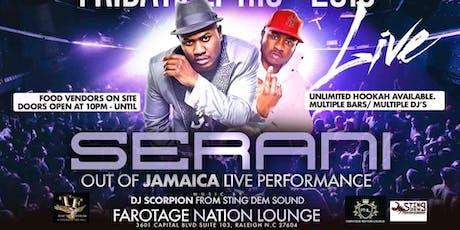 Serani Performing Live  tickets