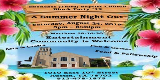 A Summer Night Out Block Party