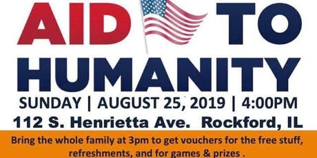 AID TO HUMANITY : FREE SCHOOL SUPPLIES, WINTER CLOTHES  tickets