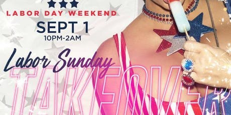 """Labor Sunday Takeover """"2019"""" At Cornerstone 2053 W Broad St  tickets"""