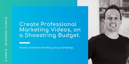 Create Professional Marketing Videos, on a Shoestring Budget.