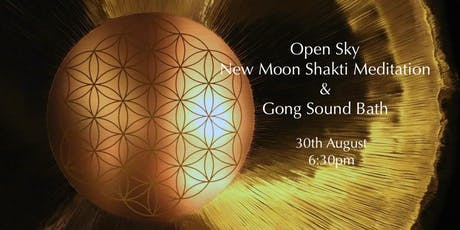 New Moon Shakti Meditation and Gong Sound Bath tickets