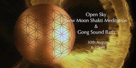New Moon Shakti Meditation and Gong Sound Bath tickets
