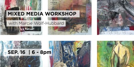 Mixed Media Workshop with Marcie Wolf-Hubbard tickets