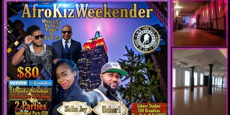 AfroKizWeekender With SHIKA & USHER1 tickets