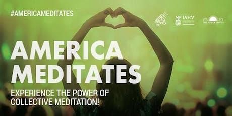 America Meditates - Rockford tickets