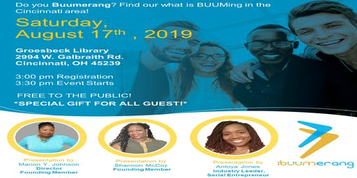 Cincinnati Buum Party! Come and see what's buuming in Cincinnati!