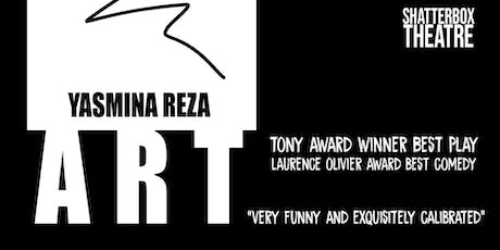 "Shatterbox Theatre Presents ""Art"" by Yasmina Reza tickets"