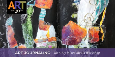 Art Journaling - October Workshop tickets