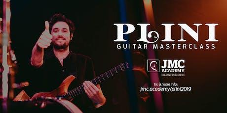 Guitar Masterclass with Plini (JMC Sydney) tickets