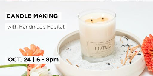 Candle Making with Handmade Habitat