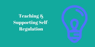 Teaching and Supporting Self-Regulation