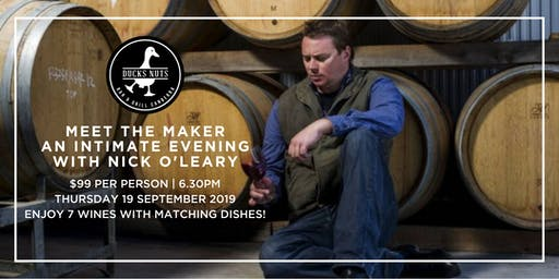 Meet the Maker – An intimate evening with Nick O'Leary