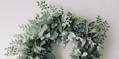5pm - Fresh Mixed Eucalyptus wreath workshop
