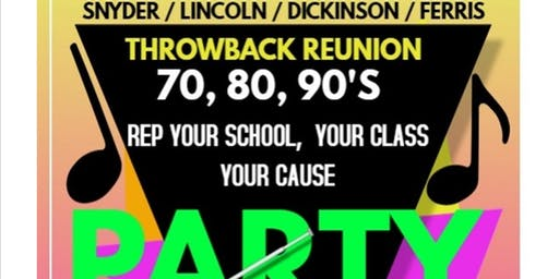 Throwback Reunion Party