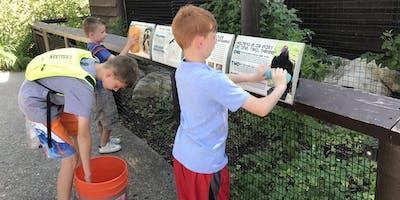 Tracy Aviary Volunteering Event
