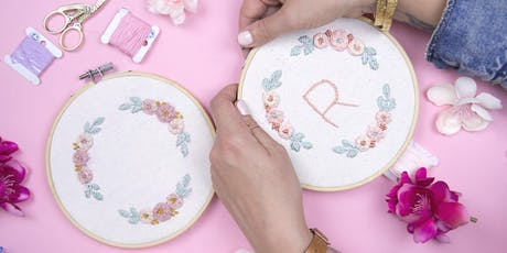 Floral Embroidery Workshop tickets