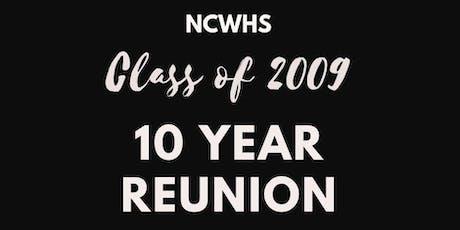 NCWHS 2009 Class Reunion tickets