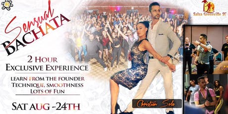 Sensual Bachata with Christian Sola tickets
