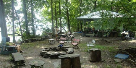 Labor Day Weekend Camping at Our Private Riverside Campsite: Sat-Mon tickets
