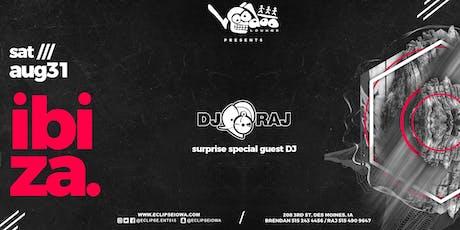 IbiZa at Voodoo Lounge with DJ RAJ tickets