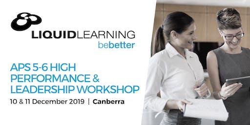 APS 5-6 High Performance & Leadership Workshop
