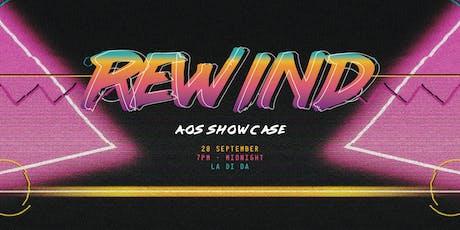 Rewind | AOS Showcase 2019 tickets