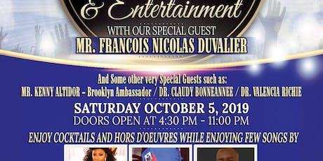 Haiti , New Beginnings: An Evening With Mr. Francois Nicolas Duvalier tickets