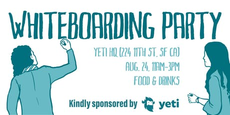 Whiteboarding Party (Food & Drinks) #DesignJam tickets