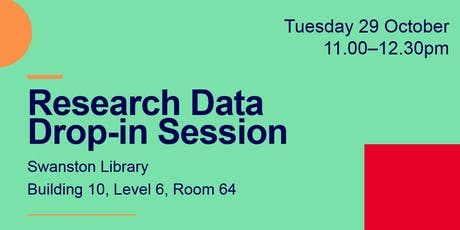 Research Data  - Drop-in Session @ RMIT University Library (Swanston) tickets