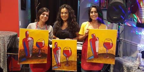 Friday Night | Paint & Sip | Wine & Chocolate (2/$50) tickets