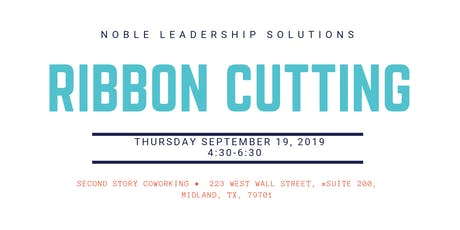 Noble Leadership Solutions Ribbon Cutting tickets