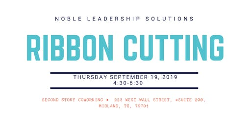 Noble Leadership Solutions Ribbon Cutting
