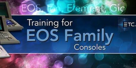 ETC Eos Family Level 1 (Basic) Console Training (Melbourne) tickets