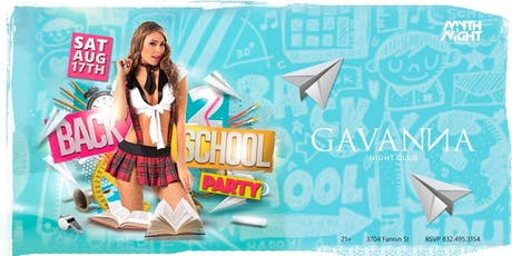 Back To School Party by Mythnight tickets