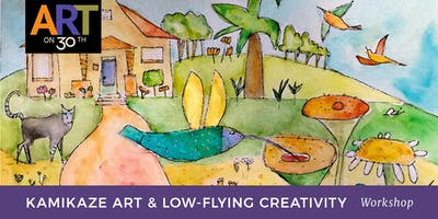 Kamikaze Art & Low-Flying Creativity with Jill Badonsky