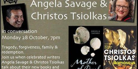 Angela Savage & Christos Tsiolkas in conversation tickets
