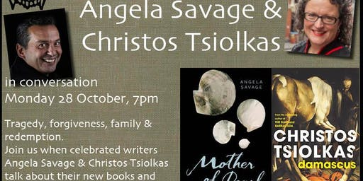 Angela Savage & Christos Tsiolkas in conversation