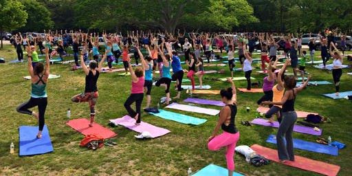 Group Yoga w/ Raine Supreme at Fresh Fest Cleveland