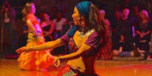 Turkish Roma Dance by Ishra Hosted by Almeh Sisters of Belly Dance