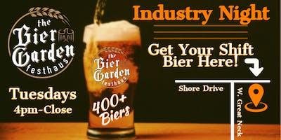 Bier Garden Festhaus Industry Night