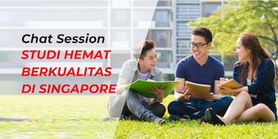 Chat Session Studi Hemat di Singapore