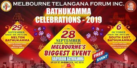 Braybrook Mega Bathukamma-Flower Festival tickets