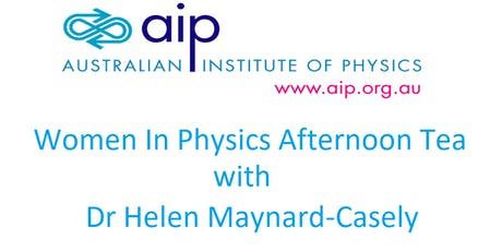 Women in Physics Afternoon Tea (Australian Institute of Physics) tickets